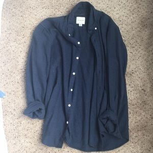 American Eagle Navy Flannel